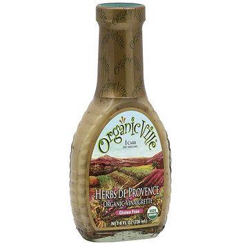 Organicville Organic Herbs De Provence Vinaigrette, 8 oz (Pack of 6)