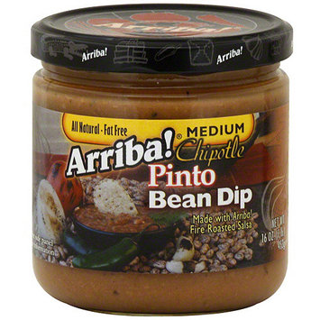 Arriba Chipotle Pinto Bean Dip, 16 oz (Pack of 6)