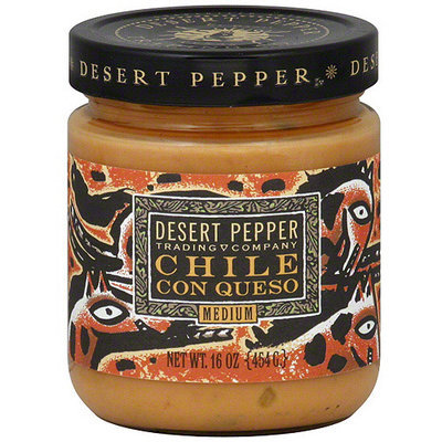 Desert Pepper Chile Con Queso, 16 oz (Pack of 6)