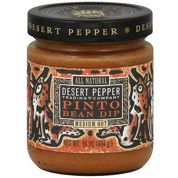 Desert Pepper Pinto Bean Dip, 16 oz (Pack of 6)