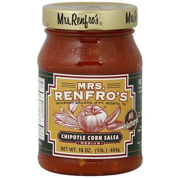 Mrs. Renfro's Medium Chipotle Corn Salsa, 16 oz (Pack of 6)