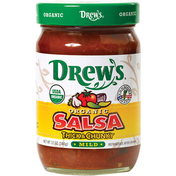Drew's Thick & Chunky Mild Salsa, 12 oz (Pack of 6)