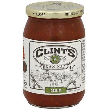 Clint's Texas Mild Salsa, 16 oz (Pack of 6)