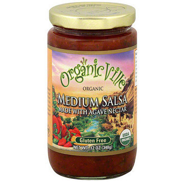 Organicville Salsa Made With Agave Nectar, 12 oz (Pack of 6)