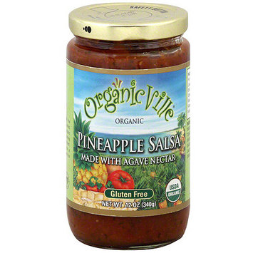 Organicville Pineapple Salsa, 12 oz (Pack of 6)