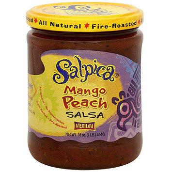 Salpica Mango Peach Salsa, 16 oz (Pack of 6)