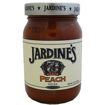 Jardines Jardine's 7J Ranch Prairie Peach Salsa, 16 oz (Pack of 6)