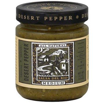 Desert Pepper Salsa Del Rio, 16 oz (Pack of 6)