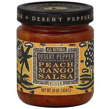 Desert Pepper Peach Mango Salsa, 16 oz (Pack of 6)