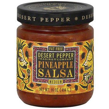 Desert Pepper Pineapple Medium Salsa, 16 oz (Pack of 6)