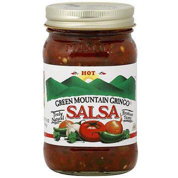 Green Mountain Gringo Hot Salsa, 16 oz (Pack of 6)