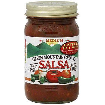 Green Mountain Gringo Medium Salsa, 16 oz (Pack of 6)