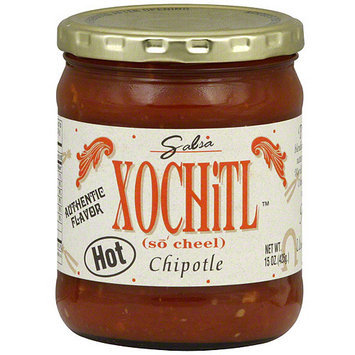 Xochitl Chipotle Hot Salsa, 15 oz (Pack of 6)