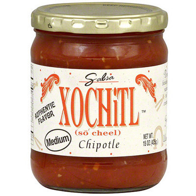 Xochitl Chipotle Medium Salsa, 15 oz (Pack of 6)