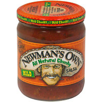 Newman's Own Mild Chunky Salsa, 16 oz (Pack of 12)
