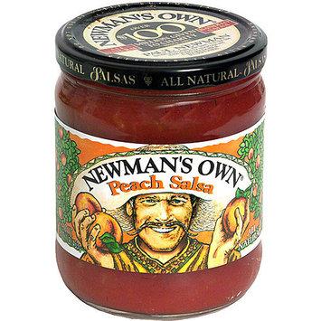 Newman's Own Peach Salsa, 16 oz (Pack of 12)