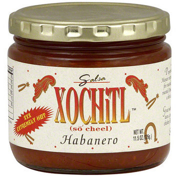 Xochitl Extremely Hot Habanero Salsa, 11.5 oz (Pack of 12)