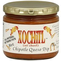 Xochitl Hot Chipotle Queso Dip, 11.5 oz (Pack of 12)