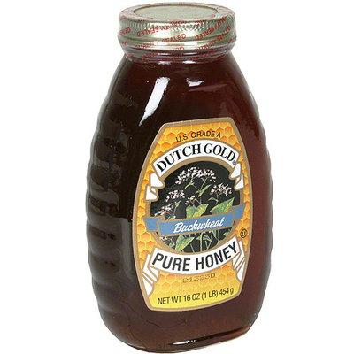 Dutch Gold Buckwheat Blossoms Pure Honey, 16 oz (Pack of 6)