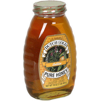Dutch Gold Pure Golden Honey, 16 oz (Pack of 6)