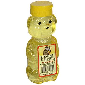 Hauke Honey Honey Bear Honey, 12 oz (Pack of 12)