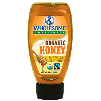 Wholesome Sweeteners Amber Honey, 16 oz (Pack of 6)