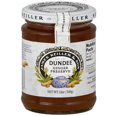 James Keller & Son James Keiller & Son Dundee Ginger Preserves, 12 oz (Pack of 6)