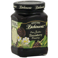 Dickinsons Dickinson's Pure Seedless Boysenberry Preserves, 10 oz (Pack of 6)