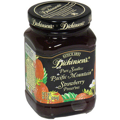 Dickinsons Dickinson's Seedless Pacific Mountain Preserves, 10 oz (Pack of 6)