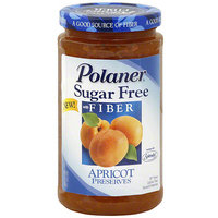 Polaner Sugar Free Apricot Preserves, 13.5 oz (Pack of 12)