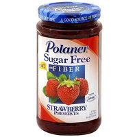Polaner Sugar Free Strawberry Preserves, 13.5 oz (Pack of 12)
