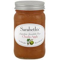 Sarabeth's Chunky Apple Spreadable Fruit, 18 oz (Pack of 6)