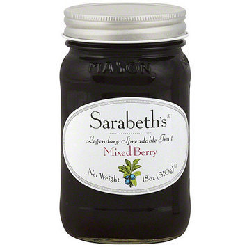Sarabeth's Mixed Berry Spreadable Fruit, 18 oz (Pack of 6)