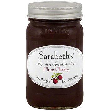 Sarabeth's Plum Cherry Fruit Spread, 18 oz (Pack of 6)