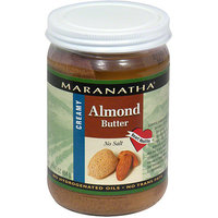 Maranatha Creamy Roasted Almond Butter, 16 oz (Pack of 12)