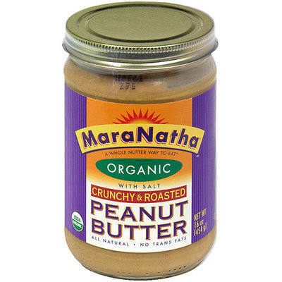 Maranatha Hint Of Sea Salt Crunchy Peanut Butter, 16 oz (Pack of 6)