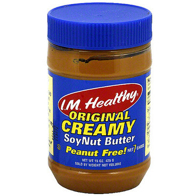 I.M. Healthy Creamy Soynut Butter, 15 oz (Pack of 6)