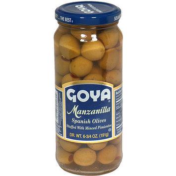 Goya Manzanilla Spanish Olives, 6.75 oz (Pack of 24)