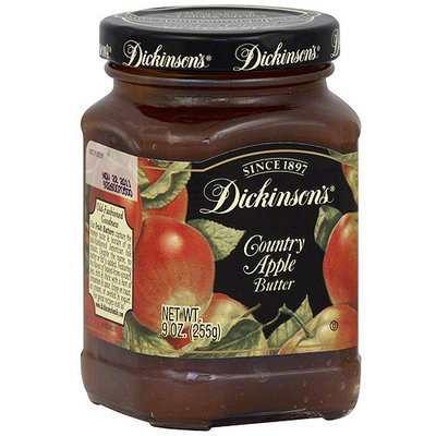 Dickinsons Dickinson's Country Apple Butter, 9 oz (Pack of 6)