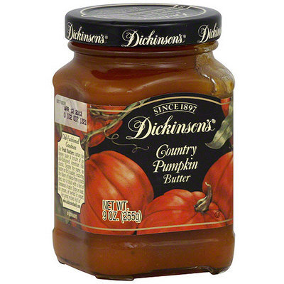 Dickinsons Dickinson's Country Pumpkin Butter, 9 oz (Pack of 6)