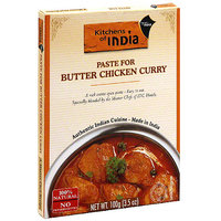 Kitchens Of India Curry Paste For Butter Chicken, 3.5 oz (Pack of 6)