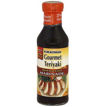 Kikkoman Gourmet Teriyaki Marinade, 14 oz (Pack of 12)