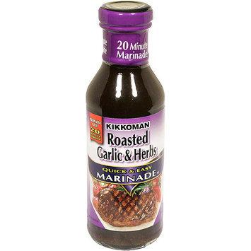 Kikkoman Roasted Garlic & Herbs Marinade, 14 oz (Pack of 12)