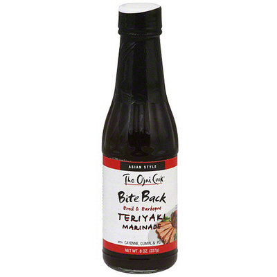 The Ojai Cook Teriyaki Marinade, 8 oz (Pack of 6)
