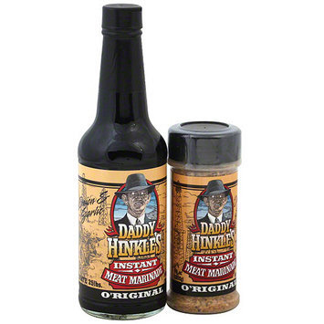 Daddy Hinkle's Combo Wet & Dry Rub Marinade, 15 oz (Pack of 6)