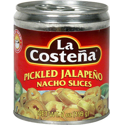 La Costena Pickled Jalapeno Nacho Slices, 7 oz (Pack of 12)