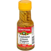La Preferida Louisiana Green Peppers, 6 oz (Pack of 12)