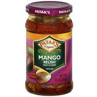 Patak's Mango Relish, 10 oz (Pack of 6)