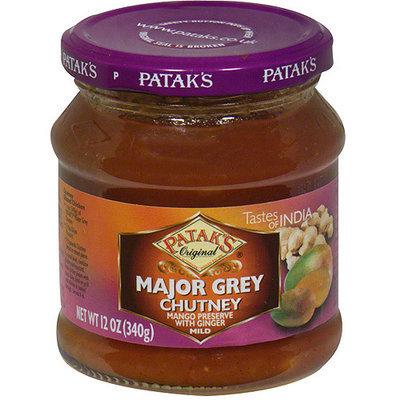 Patak's Major Grey Chutney, 12 oz (Pack of 6)