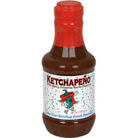 Ketchapeno Primo Spicy Jalapeno Peppers Ketchup, 18 oz (Pack of 6)